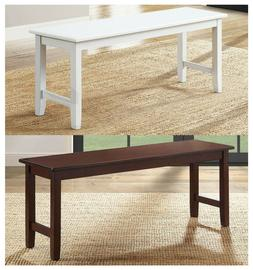 Kitchen Dining Bench Living Room Extra Seating Solid Sturdy