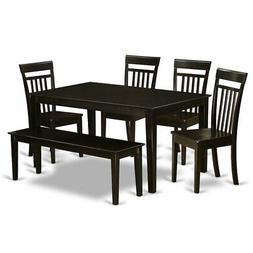 East West Furniture Kitchen Table And 4 Chairs For Kitchen A