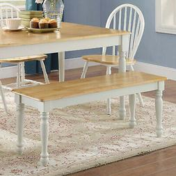 Kitchen Table Bench Breakfast Nook Long Seat Rustic Dining W