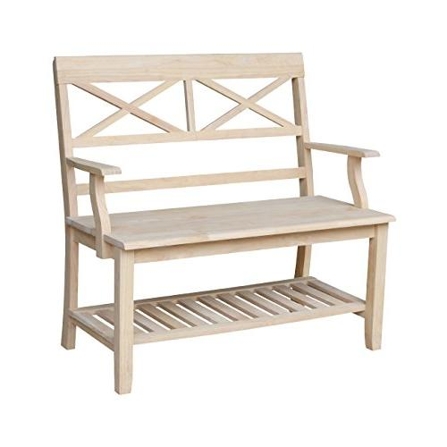 1 double back bench
