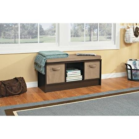 3-cube Beddrom with Seating, Brown