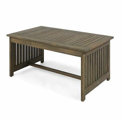 Great Deal Furniture Grace Coffee Table, Gray