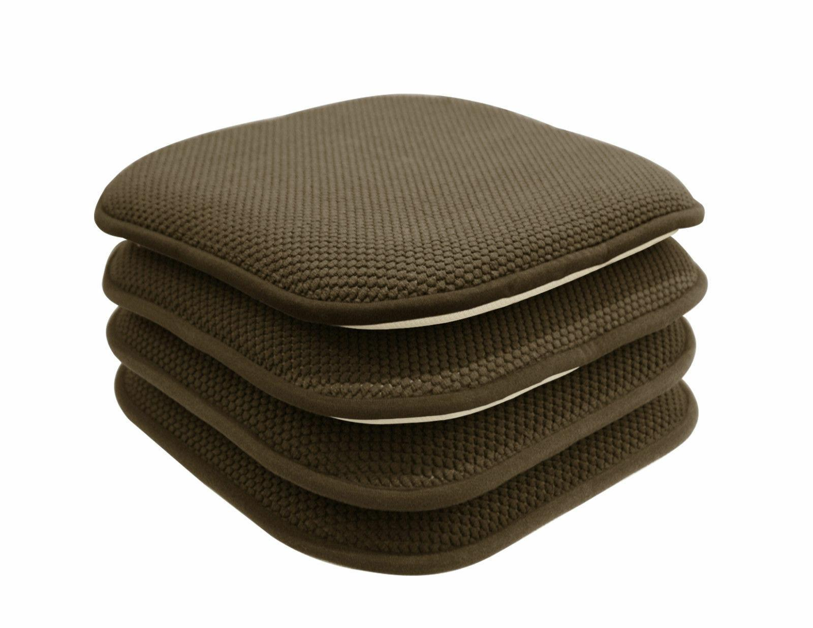 4 Pack: Slip Chenille Foam Chair Assorted Colors