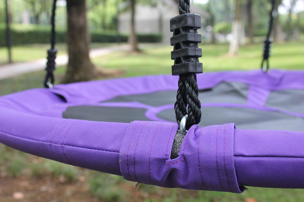 40'' Outdoor Hanging Rope Nest Tree Swing Toys