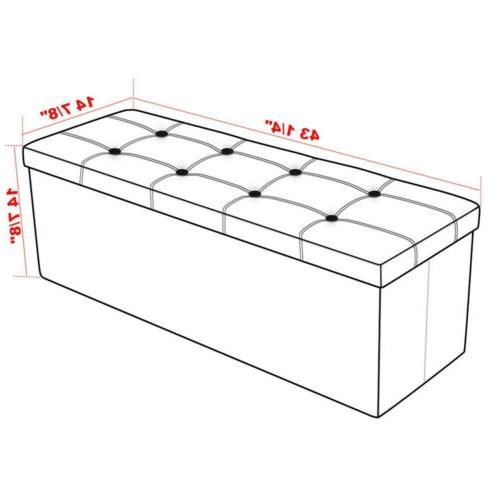 """43"""" Storage Bench Chest/Footrest/Coffee Table"""