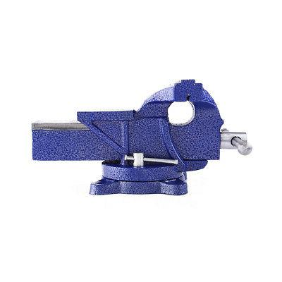 """5"""" Bench Vise with Swivel Locking top Clamp Vice"""
