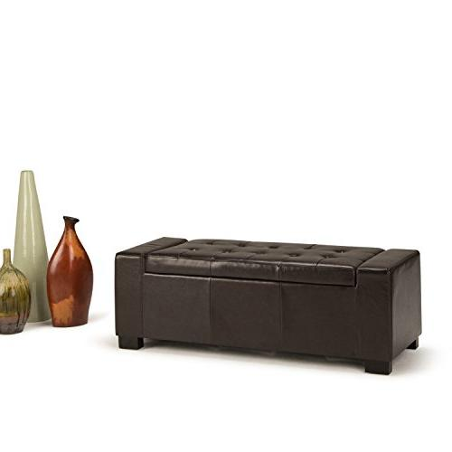 Simpli Home Large Tanners Faux