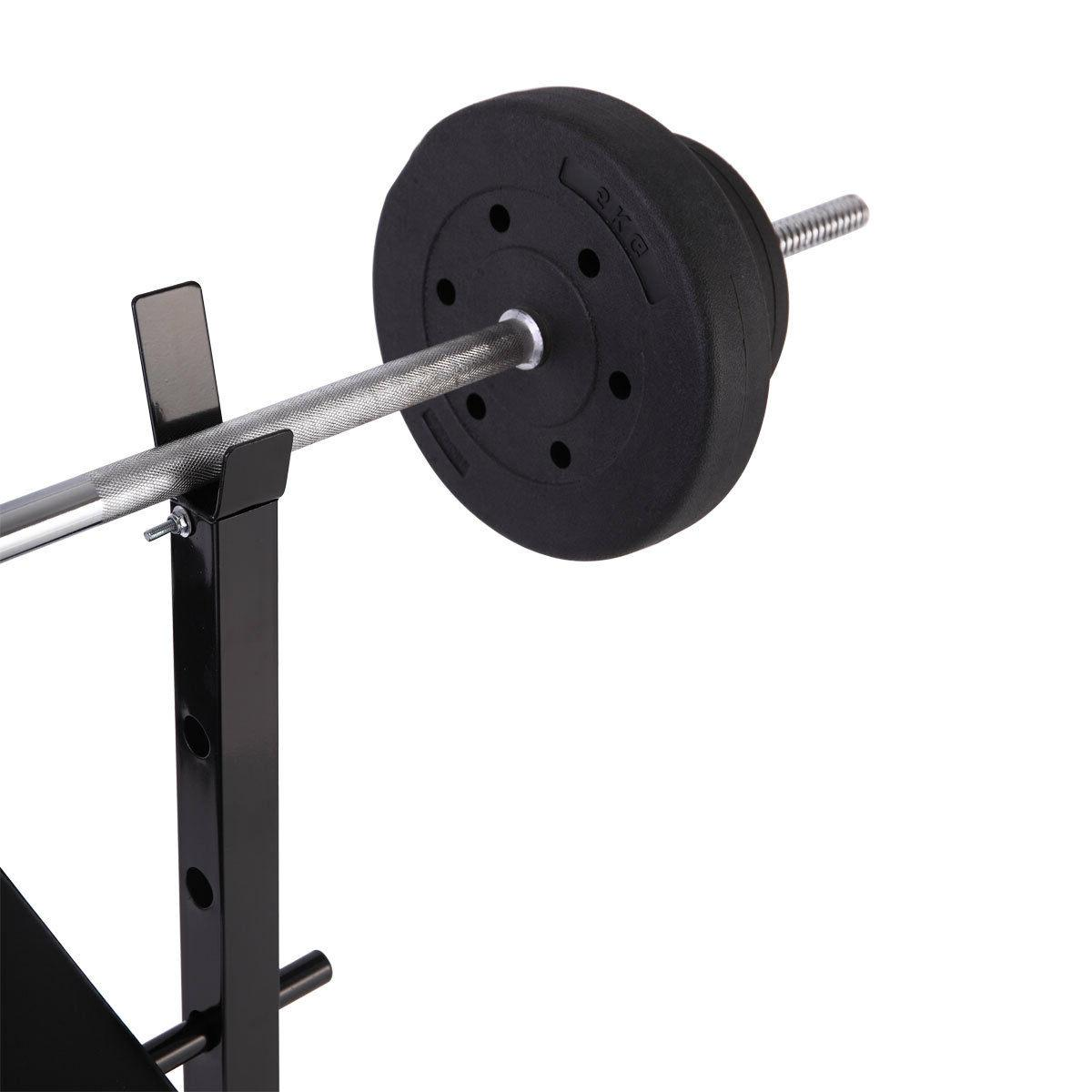 Weight Bench Lifting Press Equipment Exercise Adjustable Incline
