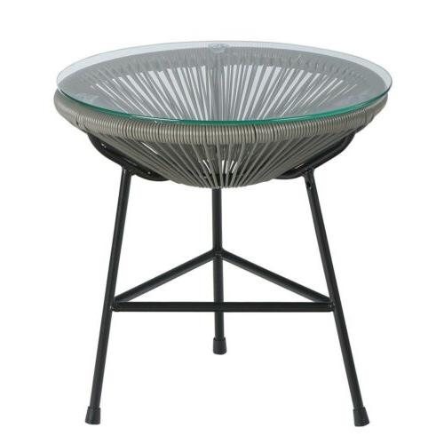 acapulco indoor outdoor patio side table