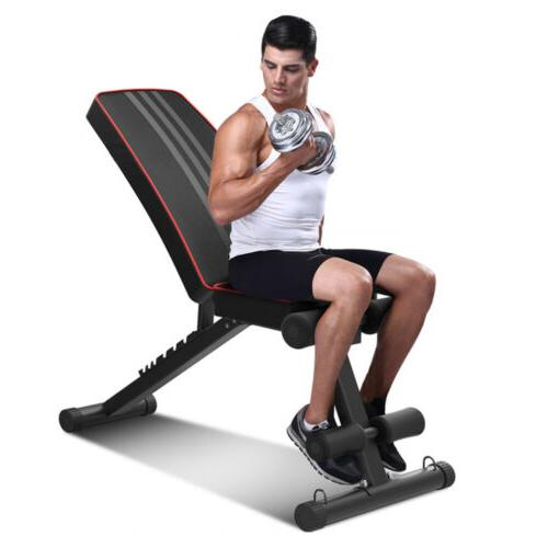 Adjustable Flat Incline Fitness Exercise