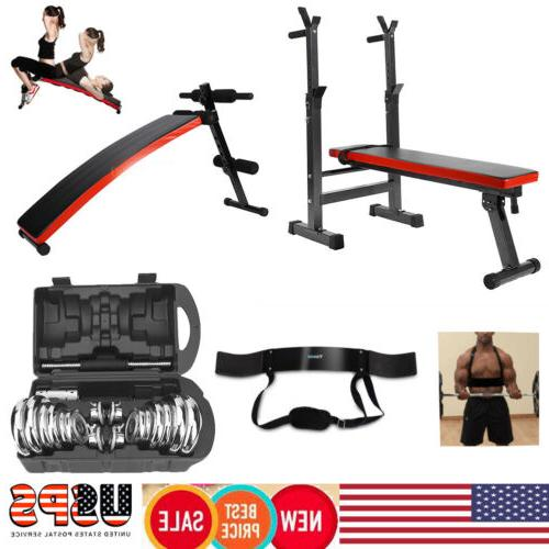adjustable fitness weight sit up bench incline