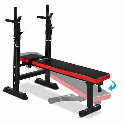 Costway Adjustable Weight Lifting Incline Bench Fitness New
