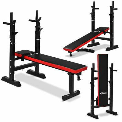 Costway Adjustable Weight Lifting Flat Fitness