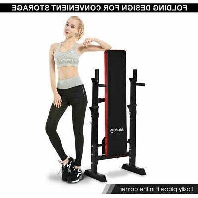 Costway Adjustable Folding Lifting Fitness Workout New