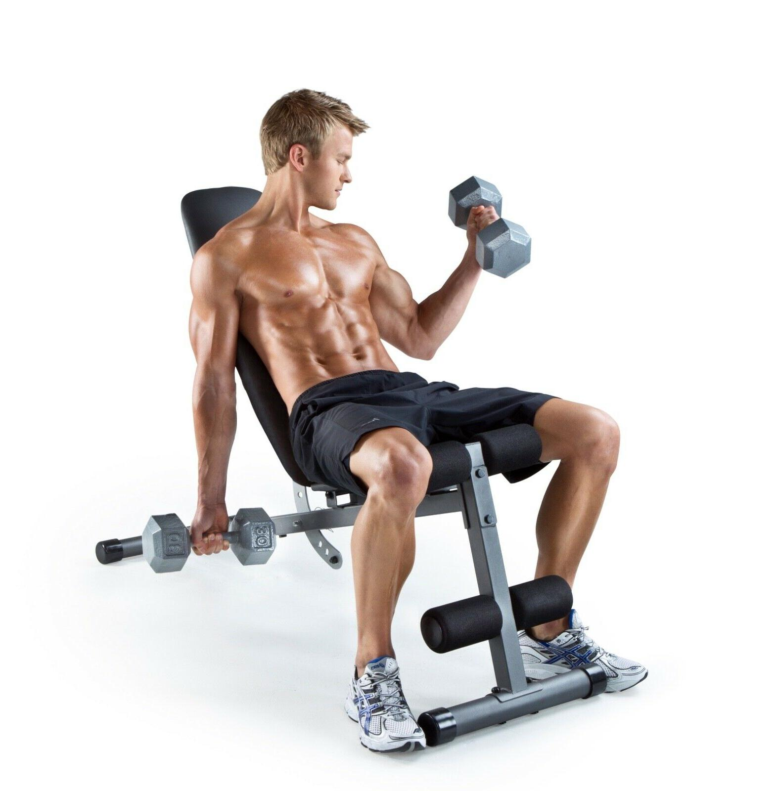 ADJUSTABLE Incline Exercise Strength Workout