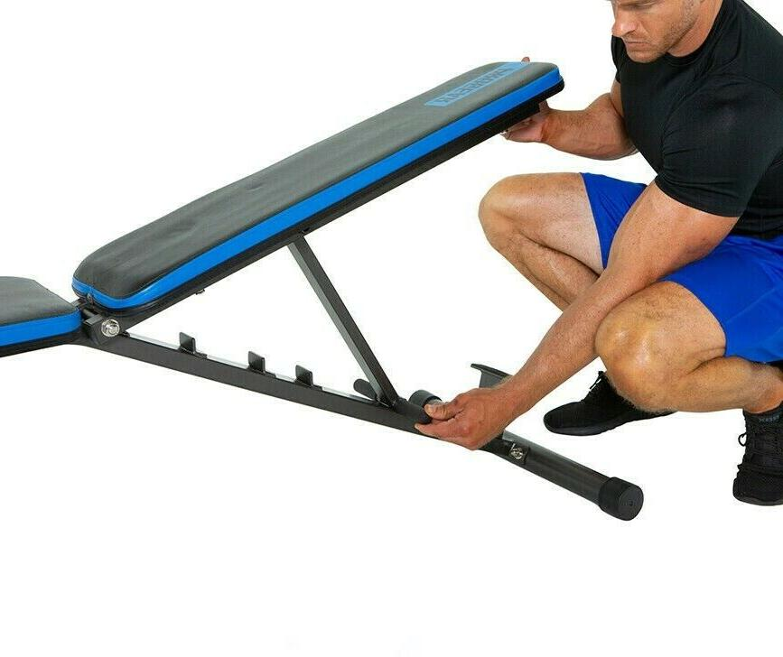 ADJUSTABLE BENCH Flat Incline POSITION HOME
