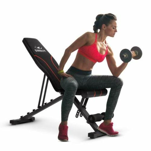 Flat Incline/Decline Gym Exercise