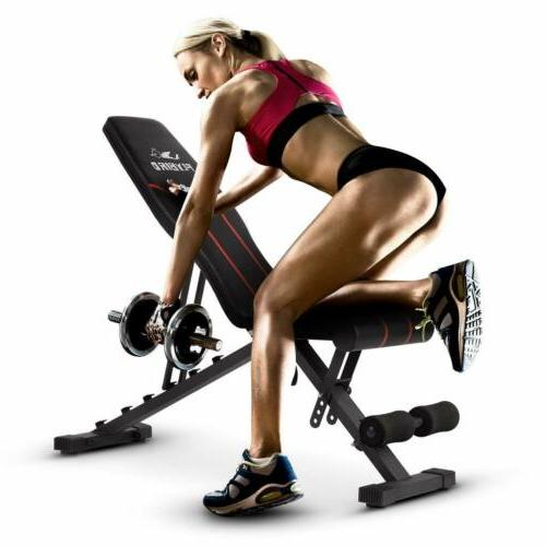 FLYBIRD Adjustable Flat Workout Exercise
