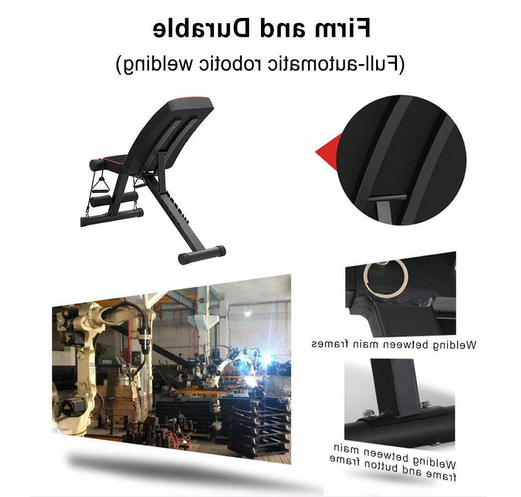 Adjustable Weight Bench Sit Lifting Body Workout