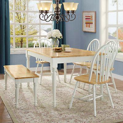 Kitchen Table Nook Seat Rustic Dining Chair