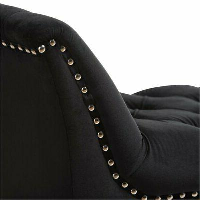 Baxton Studio Luxe Tufted in Black