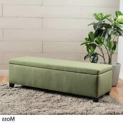 Cleo Fabric Ottoman Bench by Christopher Home