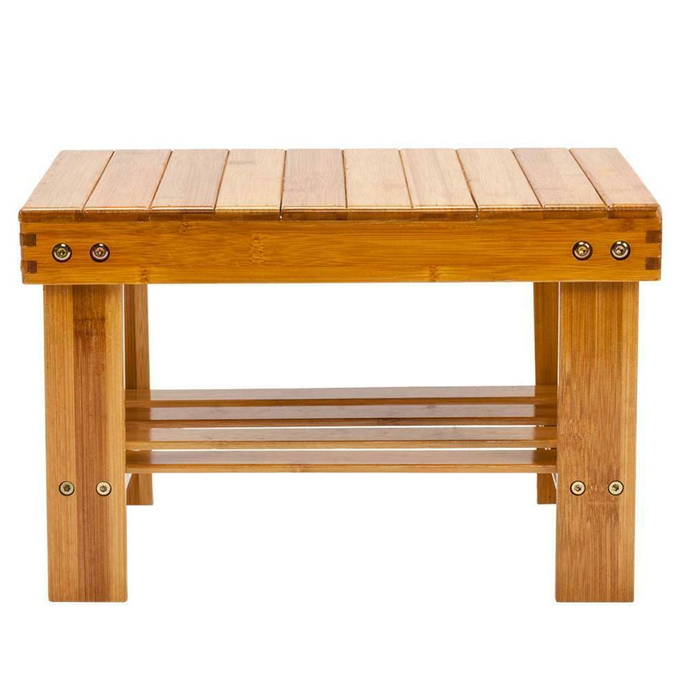 Cute Bench Wood Color Kitchen Stool
