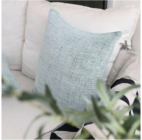 HOME BRILLIANT Deocrative Pillow Covers Bench, ...