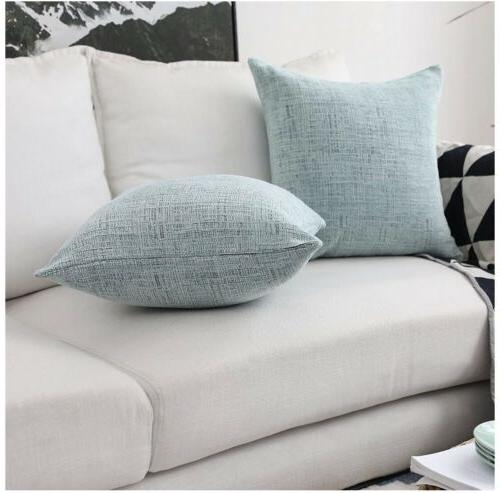 HOME Pillow Covers for Bench, 2 Packs, ...