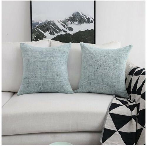HOME Deocrative Pillow Covers Bench, 18x18 ...