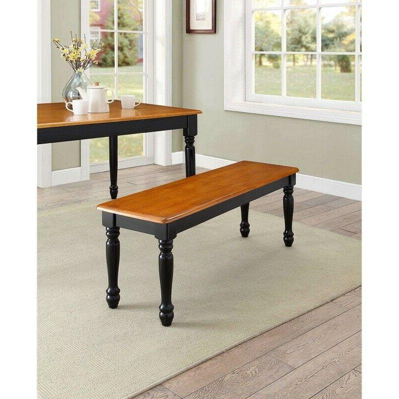 Dining Bench Farmhouse French Country Cottage Rustic Entry M