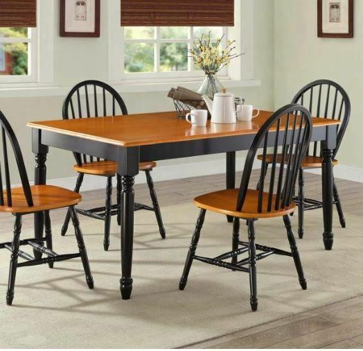 DINING TABLE Wood Kitchen Office Room Furniture Decor
