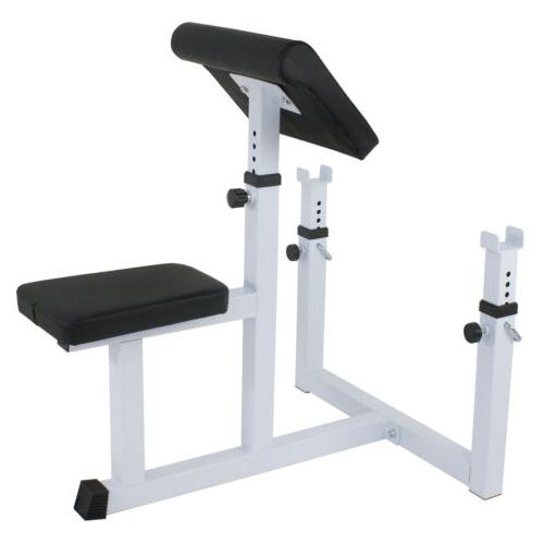 Arm Weight Bench Adjustable Commercial Preacher Dumbbell
