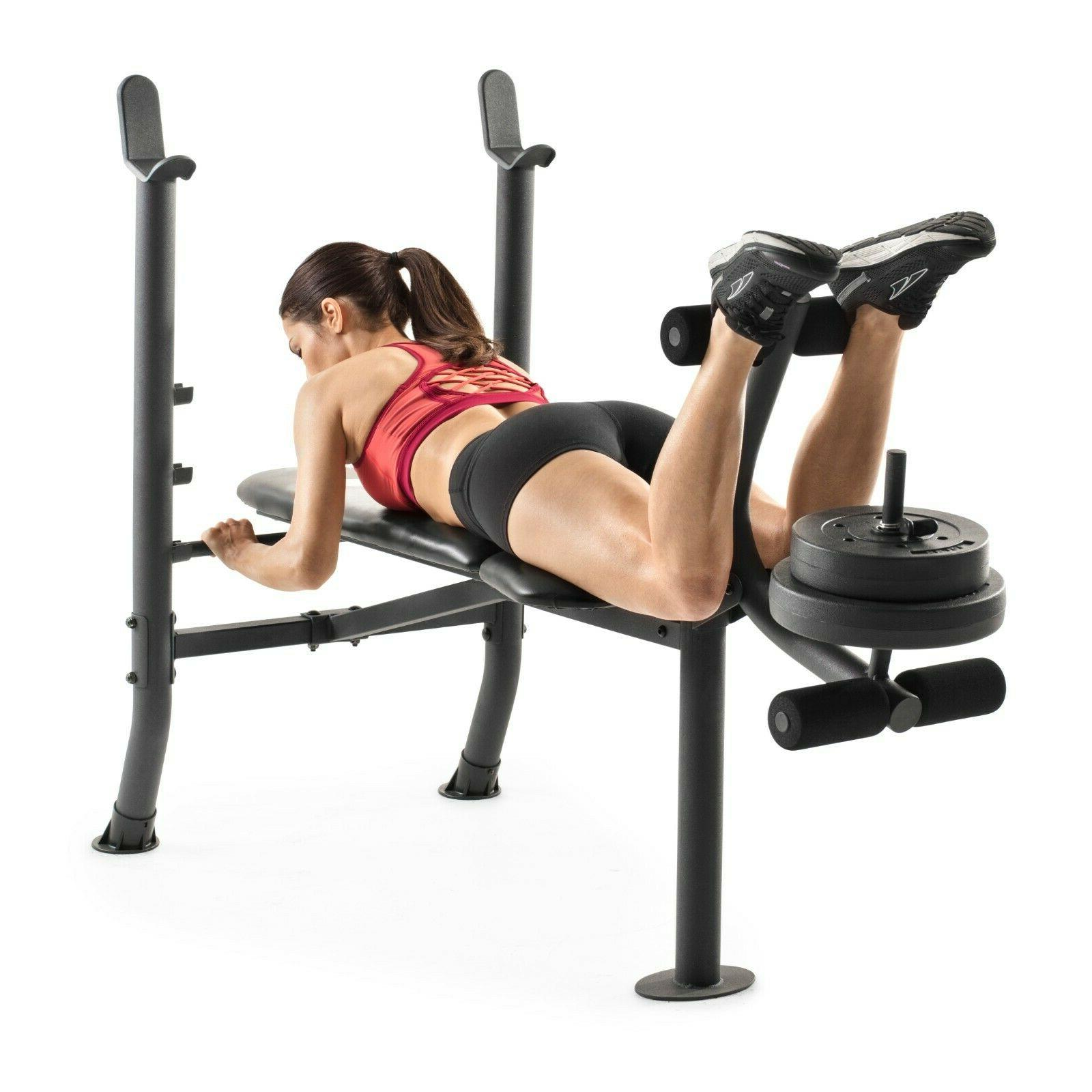 Fitness Weight Set Gym Equipment Exercise Home