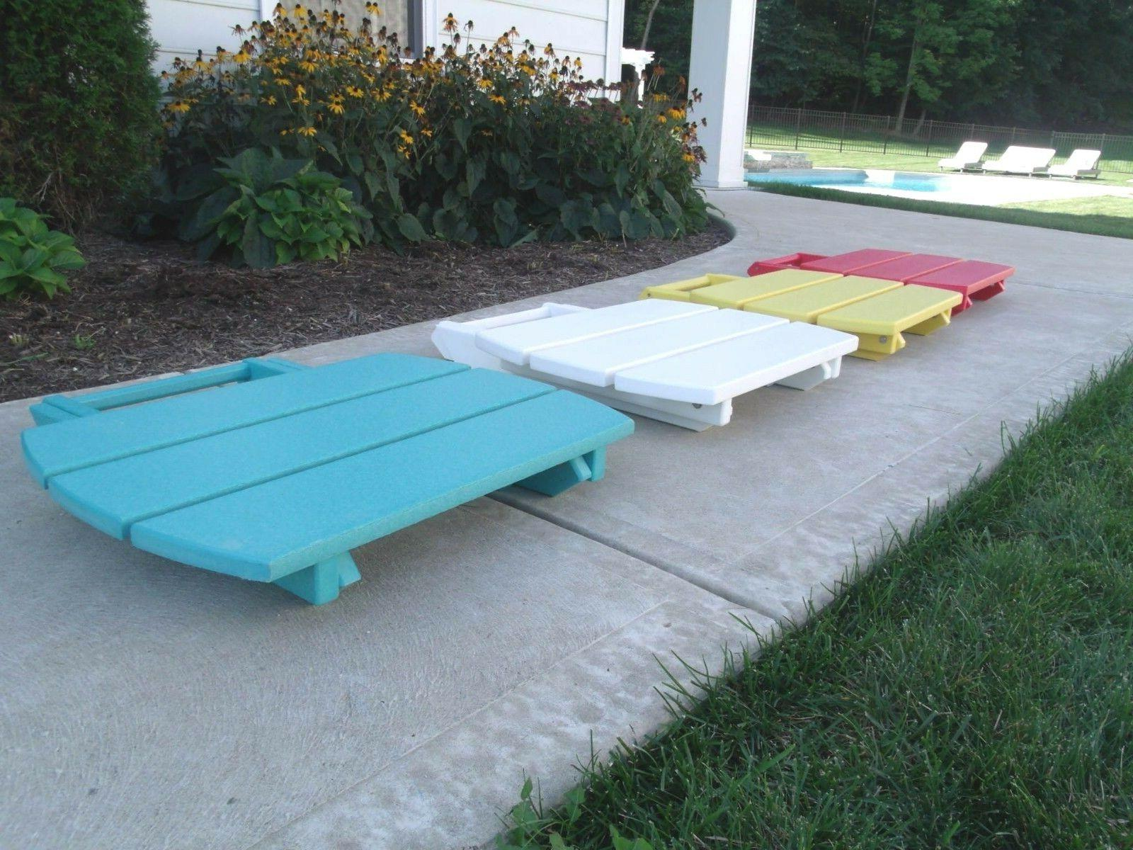 Folding Table in Recycled Multiple - SELLER!