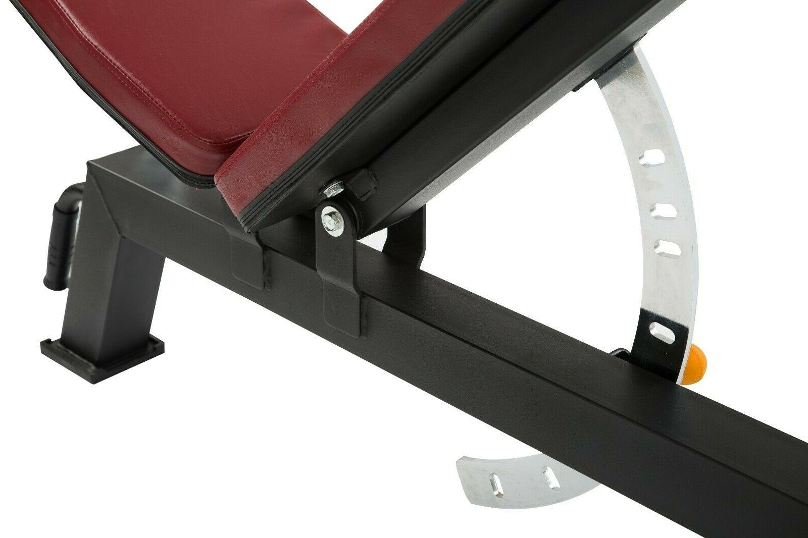 Heavy Duty Adjustable Bench Lifting Dumbbell Workout