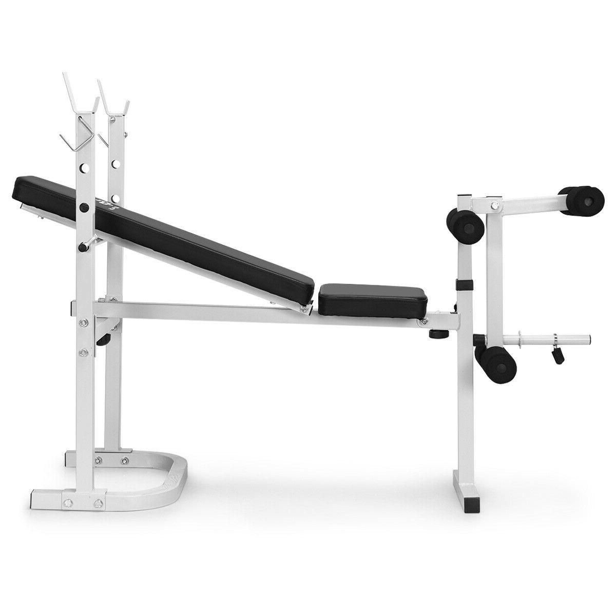 HIGH QUALITY Steel Olympic Folding Weight Bench With 3 Backrest