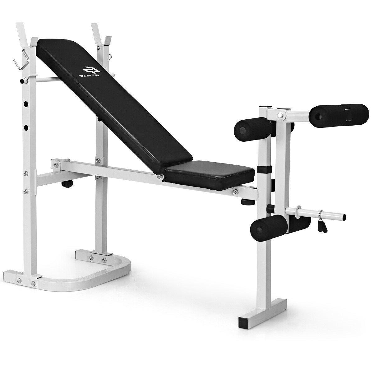 HIGH Steel Olympic Folding Weight Bench 3 Backrest