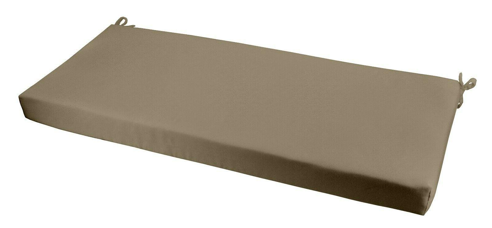 Picture of: Rsh Decor Indoor Outdoor 3 Foam Bench Cushion