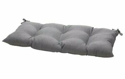 indoor outdoor rave graphite swing bench cushion