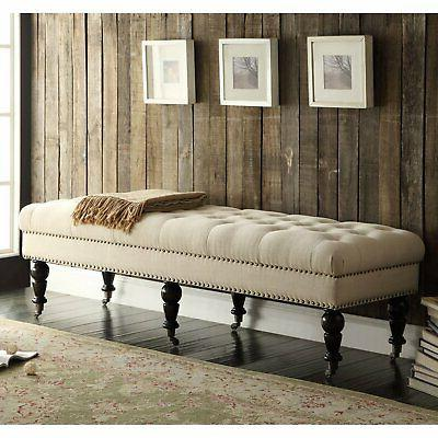 Linon Isabelle Bench