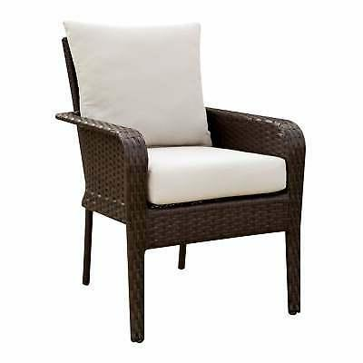 Furniture of America Liss Contemporary Espresso Dining Ivory