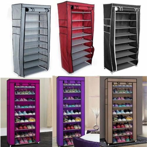 new 10 tier shoe rack cabinet 30