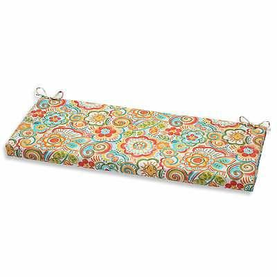 Pillow Perfect Outdoor Bench Cushion Multi