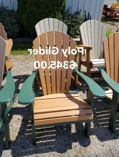Polywood outdoor Glider Free