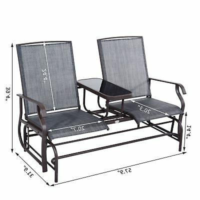 Outsunny Glider Swing Bench
