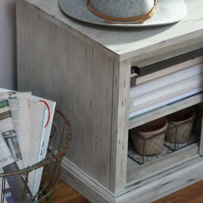 Rustic Barn Bench Entryway Room Seat Storage Gray Seat