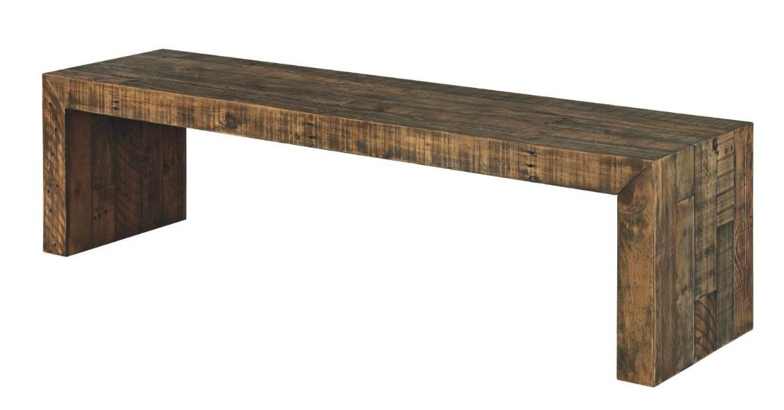 Rustic Dining Reclaimed Wood Distressed Kitchen Seating