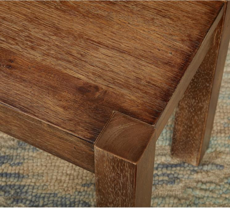 Rustic Farmhouse Kitchen Dining Bench Seat