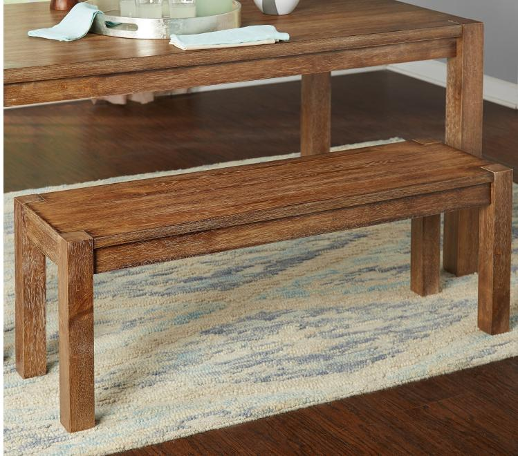 rustic farmhouse kitchen dining bench seat hall